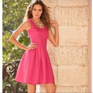 Boston Proper Scuba Fit & Flare Dress XS 0 2